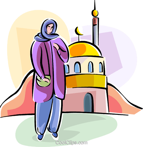 Religious Holidays UK Arab region Royalty Free Vector Clip Art illustration vc111406