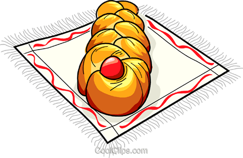 Russian cuisine Easter cake Royalty Free Vector Clip Art illustration vc111447