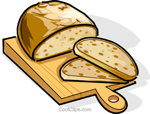 Russian cuisine Russian bread Royalty Free Vector Clip Art illustration vc111458
