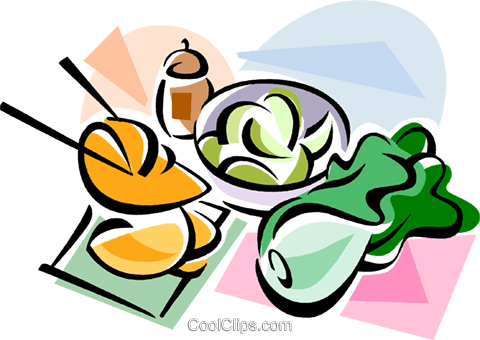 Korean cuisine Kimchi Royalty Free Vector Clip Art illustration vc111462