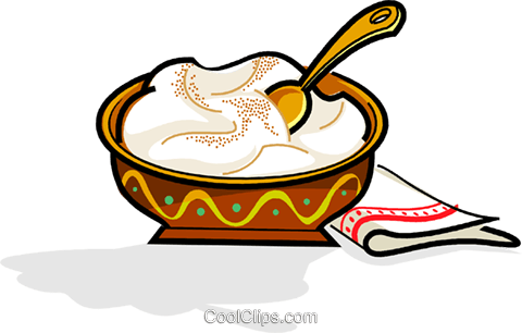 Swedish julgrot, Christmas porridge Royalty Free Vector Clip Art illustration vc111536