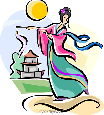 Chinese Moon Festival Royalty Free Vector Clip Art illustration vc111738
