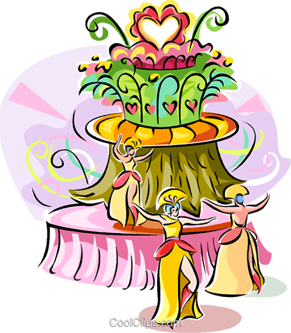 Brazilian carnival Royalty Free Vector Clip Art illustration vc111889