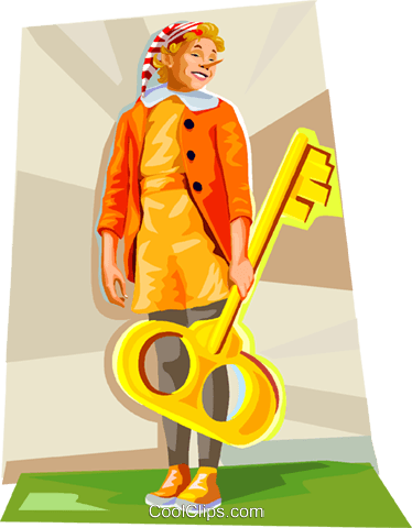Pinocchio fable Royalty Free Vector Clip Art illustration vc111905
