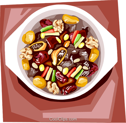 Beef rib stew Royalty Free Vector Clip Art illustration vc111912