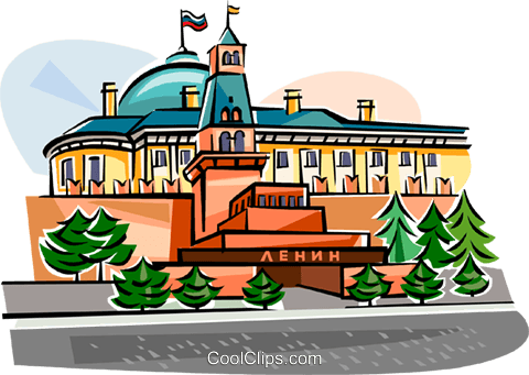 Russian Buildings Royalty Free Vector Clip Art illustration vc111987