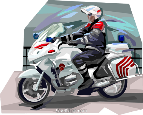 French police militarie Royalty Free Vector Clip Art illustration vc112033