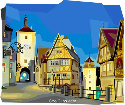 Germany Bavaria Royalty Free Vector Clip Art illustration vc112046