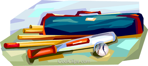 Rounders equipment Royalty Free Vector Clip Art illustration vc112151