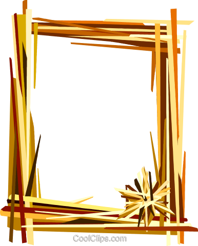 Decorative frame Royalty Free Vector Clip Art illustration vc112209