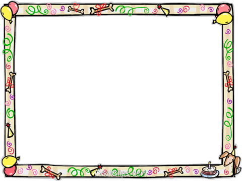 Birthday Frame Royalty Free Vector Clip Art illustration vc112218