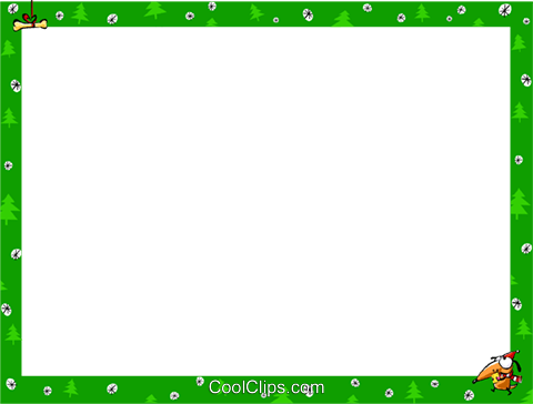 Christmas themed frame Royalty Free Vector Clip Art illustration vc112246