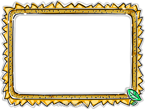 Decorative frame Royalty Free Vector Clip Art illustration vc112286