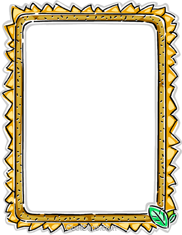 Decorative frame Royalty Free Vector Clip Art illustration vc112287