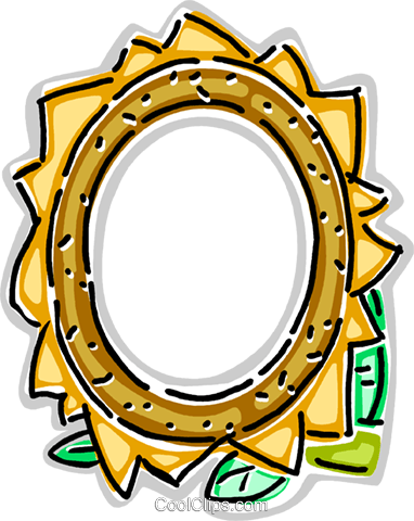 Decorative frame Royalty Free Vector Clip Art illustration vc112289