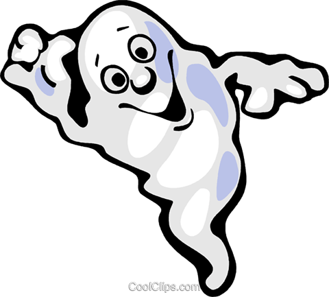 Ghost Royalty Free Vector Clip Art illustration vc112315