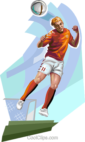 Danish football player Royalty Free Vector Clip Art illustration vc112344