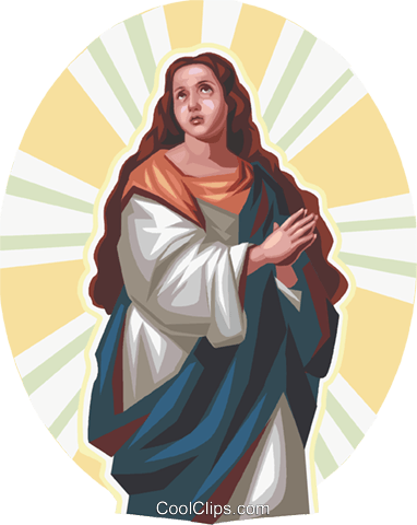 Jesus Royalty Free Vector Clip Art illustration vc112897