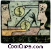 financial concept Stock Art picture
