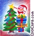 Christmas Trees Fine Art illustration