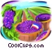 grapes from France Stock Art picture