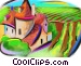 European farm Fine Art graphic