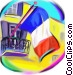 France flag Fine Art picture