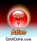 Aries Zodiac Fine Art illustration