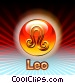 Leo Zodiac Stock Art picture