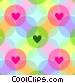 Pastel Romance Stock Art picture