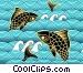 Koi Fish Jumping Fine Art graphic