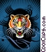 Tribal Tiger's Roar Fine Art graphic