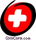 Medical first-aid kit Vector Clipart graphic