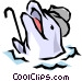 Dolphins Vector Clip Art picture