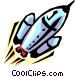 Rocket ship Vector Clipart picture