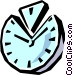 Clock Vector Clipart picture
