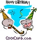 Happy Birthday! Vector Clip Art picture