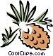Pinecones Vector Clip Art picture
