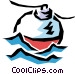 Fishing float Vector Clipart graphic