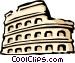 Roman Coliseum Vector Clip Art image