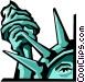 Statue of Liberty Vector Clip Art image