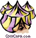Tents Vector Clipart picture