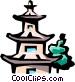 Pagoda Vector Clip Art picture