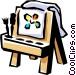 Children's art Vector Clipart graphic