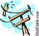 Hydro lines Vector Clipart picture