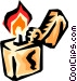 Cigarette lighter Vector Clip Art image