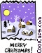 Merry Christmas! Vector Clip Art image