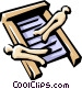 Washboard Vector Clipart illustration