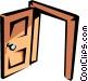 Doorway Vector Clipart graphic
