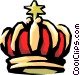 King's crown Vector Clipart image